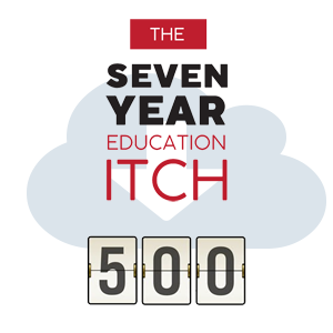 The Seven Year Education Itch now over 500 downloads